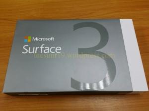กล่อง surface 3 ด้านหน้า